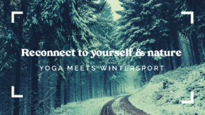 Reconnect to yourself & nature