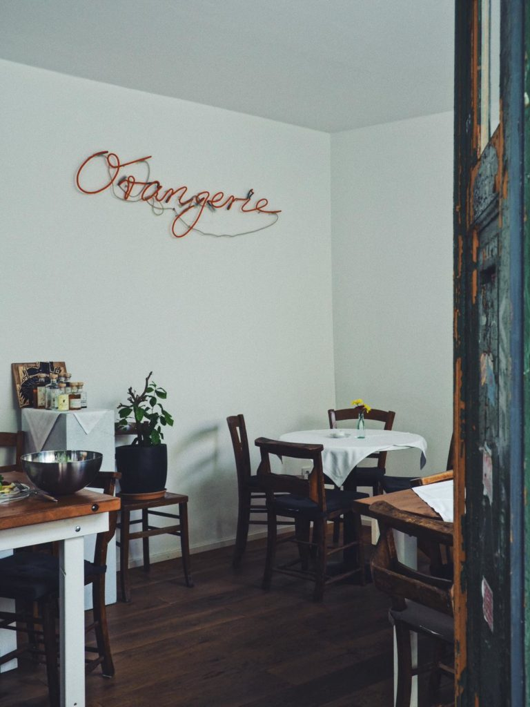 Orangerie (dort gibt's Brunch)