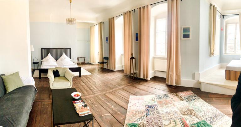 Zimmer im Schloss Raitenbuch